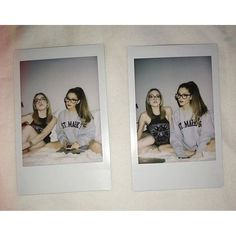 Ariana Grande and Liz Gillies have the perfect relationship. Photo Polaroid, Polaroid Pictures, Friend Pictures, Polaroid Camera, Best Friend Goals, My Best Friend, Ariana Grande, Ft Tumblr, Jade West