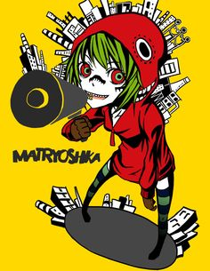 COSPLAY - GUMI from Vocaloid - Matryoshka Ver. - Cosplayed @ PAX EAST 2015