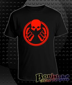 SHIELD Rises Hydra Logo (T-Shirt) - Outlaw Custom Designs, LLC