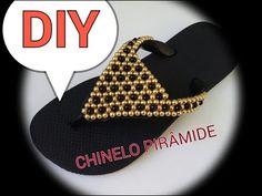 DIY CHINELO PIRÂMIDE - YouTube