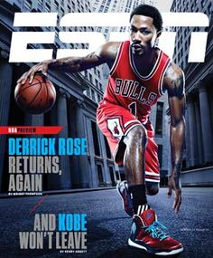 Very Cool ESPN Mag Cover Magazine Cover Design 1d5821d27222