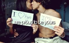 are proud to be yours