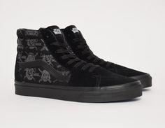 #Vans Sk8-Hi Star Wars Dark Side Darth Storm #sneakers