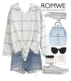 """ROMWE"" by erohina-d ❤ liked on Polyvore featuring Alexander Wang, Dolce&Gabbana, Converse, Delalle, Herbivore and Fig+Yarrow"