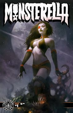 "MONSTERELLA, an action/adventure/horror/sci-fi anthology inspired by the classic ""Vampirella"""