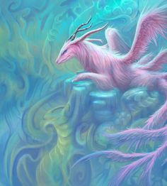 The AVALON OPAL DRAGON - Peace, tranquility and love.....faithfulness.