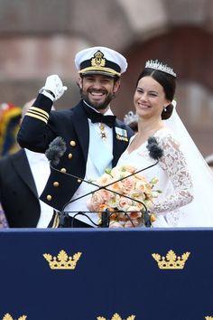 Pin for Later: Die 10 schönsten Momente der schwedischen Traumhochzeit Der stolze Bräutigam