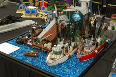 Lego Ship, Times Square, Photo And Video, World, Photos, Travel, Lego Boat, Pictures, Viajes