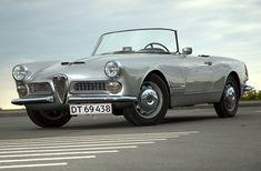 1959 ALFA ROMEO 2000 SPIDER - by Carrozzeria Touring Superleggera of Milan