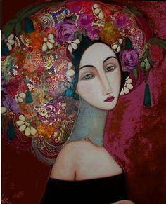 Peinture Faiza Maghni