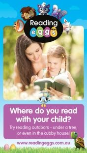 Having a special place where you read to your child can help their concentration and retention. Where do you read with your child?