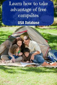 Learn how to take advantage of free campsites and other great camping tips