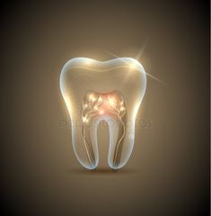 Dentaltown - How do you think the nerve looks in this tooth? Do you think it is fine or needs a root canal? Dental Design, Dental Art, Dental Teeth, Dental Wallpaper, Dental Photos, Dentist Logo, Dental Cabinet, Dental Jokes, Clinic Logo