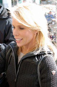 Cheryl Hines sexy, blonde hairstyle
