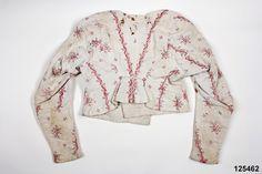 Tröja (Sakord) Produktion: 1805 - 1815 (uppskattning) Nordiska museet