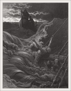 Rime of the Ancient Mariner by Gustave Dore