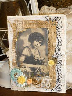 L'heure du Paradis: Vintage en tissu