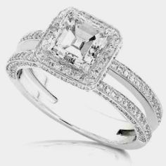 Even though its just a ring... Real or fake...  It shows how much he is really willing to go the extra mile to please his woman's heart & soul! I want this in my life.. I need this in my ring finger! Hint hint!