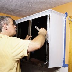Pro secrets for painting cabinets.