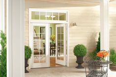 Then you first need to consider the cost of a patio door. There several factors that affect replacement patio door cost. Replacement Patio Doors, Vinyl Replacement Windows, French Doors Bedroom, French Door Curtains, Outdoor French Doors, French Patio, Exterior French Doors, Cost Of French Doors, Pella Doors