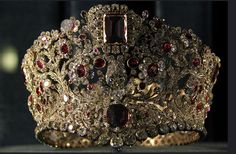 Ruby and diamond tiara of Queen Therese of Bavaria 1830.