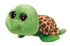 Pyoopeo Original TY Beanie Boos Zippy the Green Turtle Plush Stuffed Animal Collectible Big Eyes Doll Toy Ty Beanie Boos, Large Beanie Boos, Beanie Babies, Cute Stuffed Animals, Dinosaur Stuffed Animal, Ty Peluche, Turtle Plush, Cute Beanies, Green Turtle