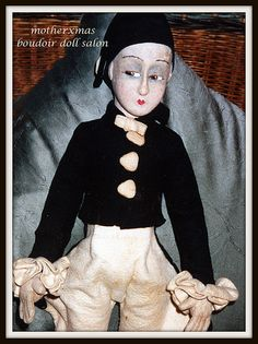 pierrot man boudoir doll Alma | Flickr - Photo Sharing!