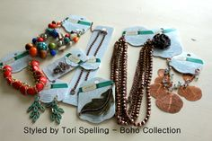{Styled} by Tori Spelling. DIY Jewelery!