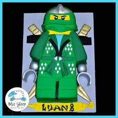 Ninjago Birthday Cake - obviously too late for Joe's fourth bday, but still awesome!