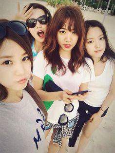 Chorong, Bomi, Namjoo, and Naeun