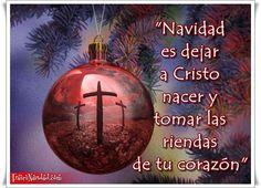 Definitivamente, qué hermosa es la Navidad, encontrarnos en paz, con nuestros seres amados y saber que hicimos lo mejor por ellos cada día del año… Todo esto es posible con Cristo, nuestro salvador…