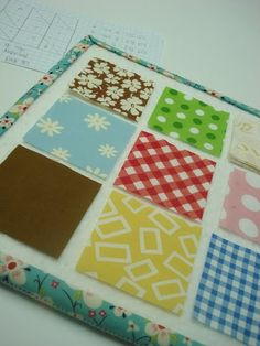 Mini design board for the Farmers Wife quilt!!