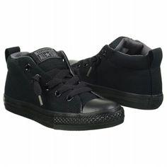 best service 78497 c734d Converse Kids  Street Mid bk gy at Famous Footwear Sneakers, Commerce De  Détail