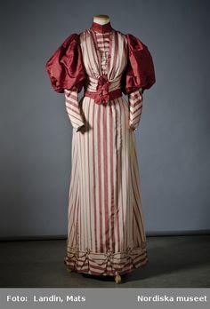 Dress, 1890's Sweden (Stockholm), Nordiska Museet