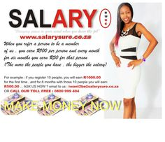Woke up and work hard #salarysure gives you an opportunity to work and earn as much as you can | Join our team now