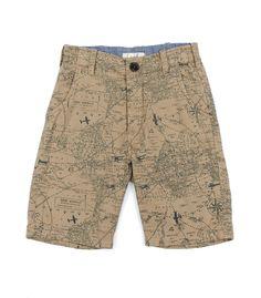 Map Print Short - Pants & Shorts - Shop - boys | Peek Kids Clothing