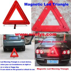 Magnetic Led Triangle