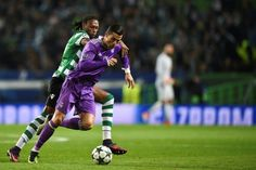Real Madrid strike late to progress in Champions League on Ronaldos homecoming   Lisbon (AFP)  Cristiano Ronaldo was lauded like a king on his return to where his career began at Sporting Lisbon but Real Madrid showed no mercy in booking their place in the knockout stages for a 20th consecutive season with a 2-1 win on Tuesday.  However victory came at a cost for the European champions as Gareth Bale limped off just before the hour mark with an ankle injury just 11 days before Real travel to…
