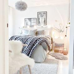 The beautiful bedroom of @mz.interior