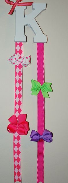 Custom Childrens Hair Bow Holder Personalized by lululilyonline