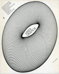 """""""Linea Grafica"""" 1/1979; Cover by Franco Grignani"""
