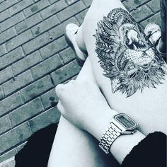 Have a little lion in you?  #TemporaryTattoos #Tatts #Lion #Rawr #TattooLife