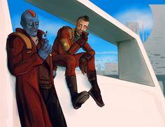 Yondu and Kraglin