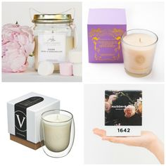 Gift guide: Four extra special Aussie candles - The Interiors Addict Vintage Jars, Me Time, Gift Guide, Cool Designs, Luxury Candles, Gemstones, Crystals, Daughters, Mental Health