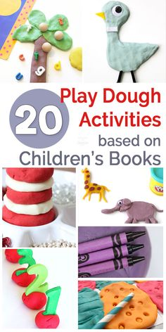 Preschoolers will love these play dough book extension activities! via @booksandgiggles