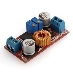 5-30V to 0.8-28V DC Boost-Buck Converter 5A Constant Current Volt Regulator - 5$