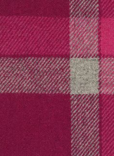 Harris Tweed Cloth, Pink Check, HA221-G7