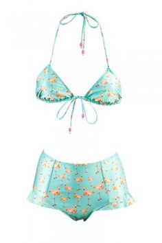 Flamingo Bay Frill Bathing suit. LOVE...wished the photo wasn't blurry.