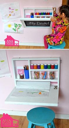 Link to image: playroom organization This is perfect for saving space/small space! Or for having 2 centers in 1 area. Link to image: playroom organization This is perfect for saving space/small space! Or for having 2 centers in 1 area. Playroom Organization, Organization Ideas, Travel Organization, Playroom Ideas, Toy Rooms, Craft Rooms, Kids Rooms, Kids Storage, Storage Ideas