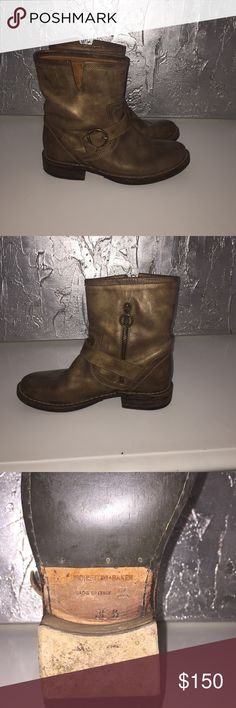 Fiorentini + Baker Eternity Boots Classic style Fiorentini + Baker Brown Leather Boot. Excellent condition, worn very little. Fiorentini + Baker Shoes Ankle Boots & Booties